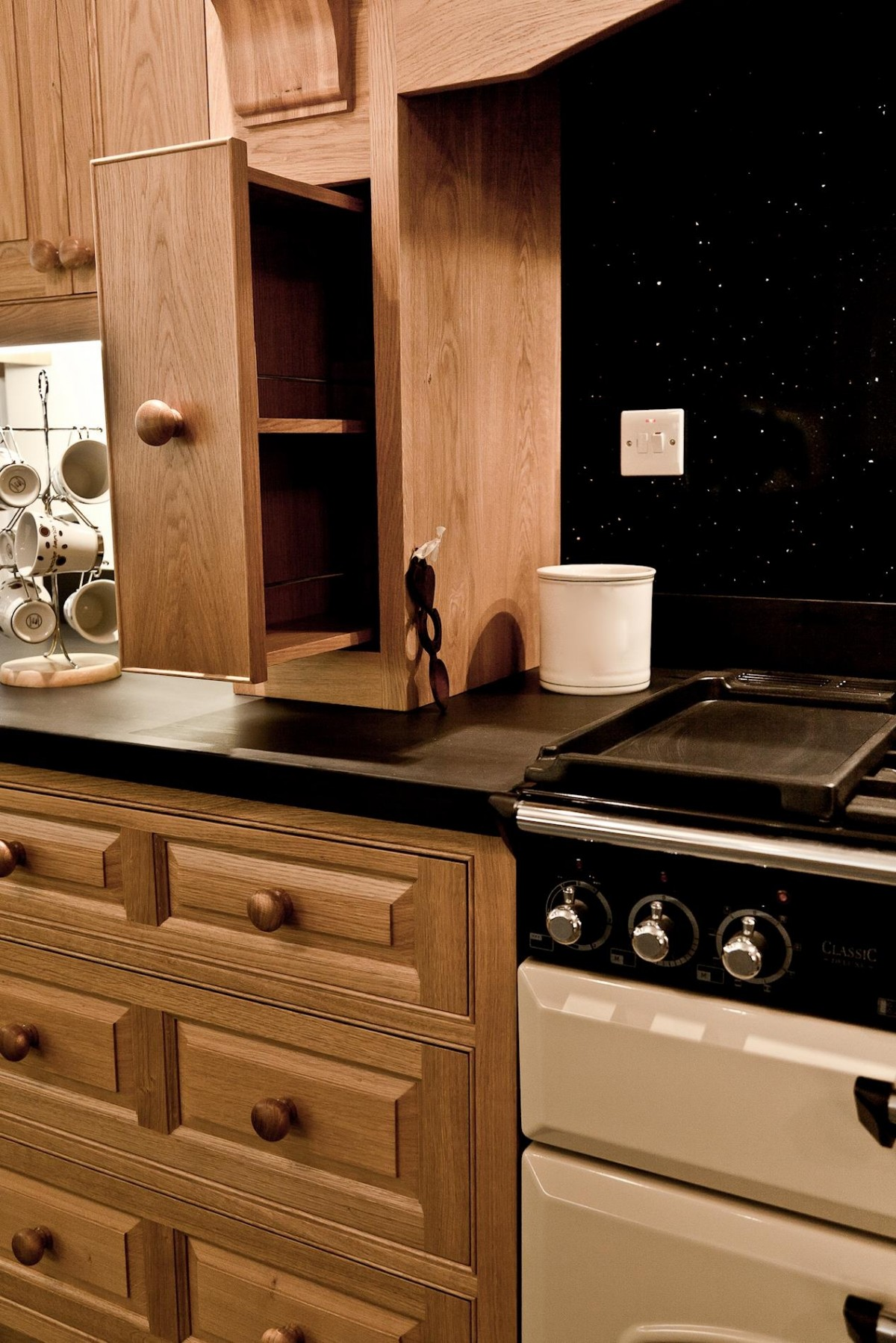 Oak Kitchen Pembrokeshire Mark Stone S Welsh Kitchens
