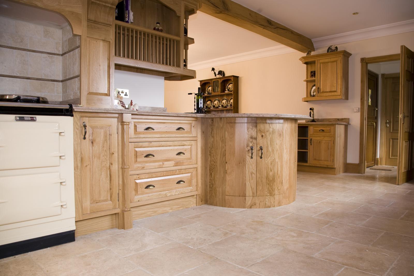 Oak Kitchen Bristol - Mark Stones Welsh Kitchens - bespoke kitchens ...
