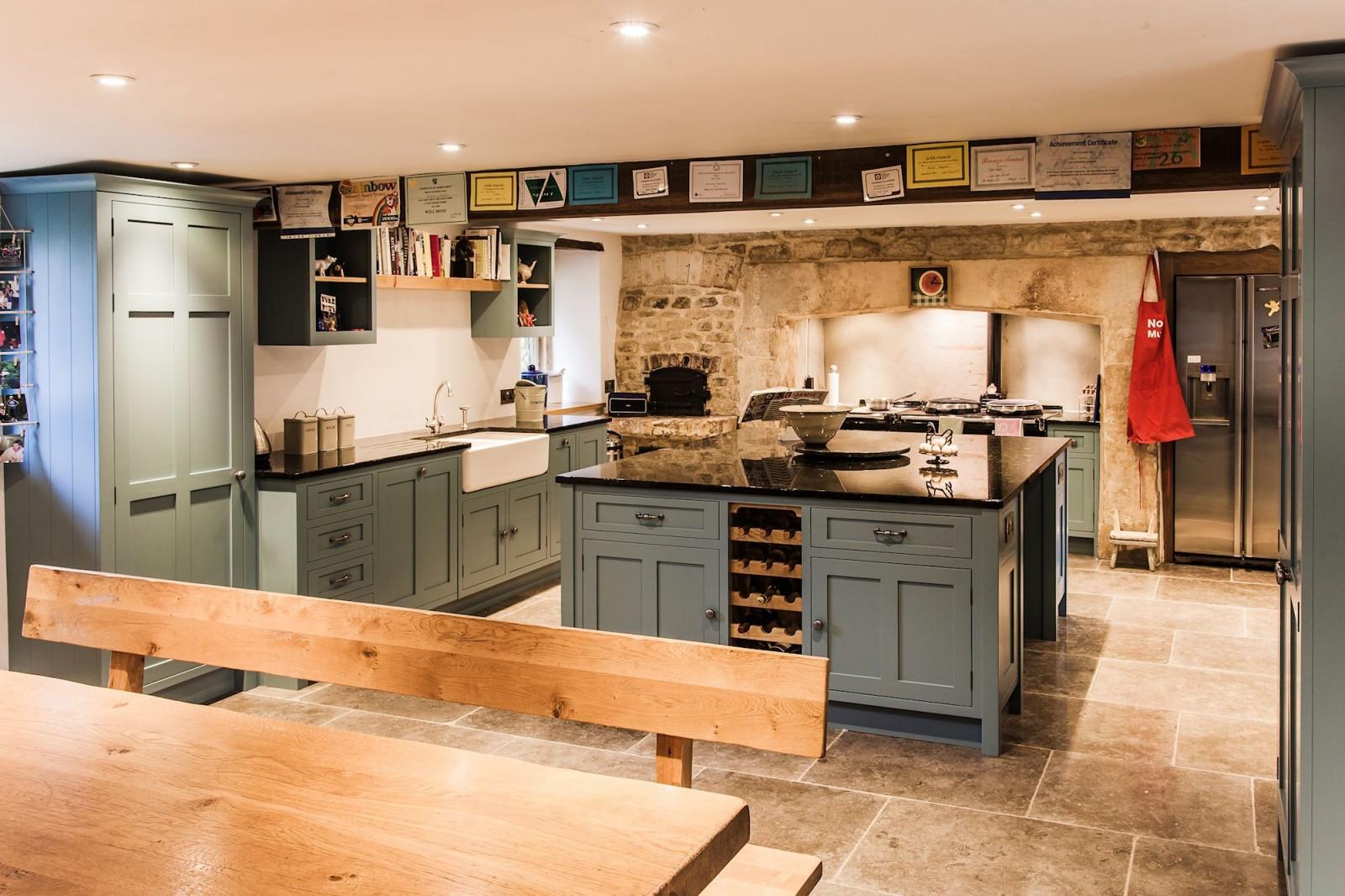 Painted Kitchen Painted Kitchen Bath Somerset Mark Stones Welsh Kitchens