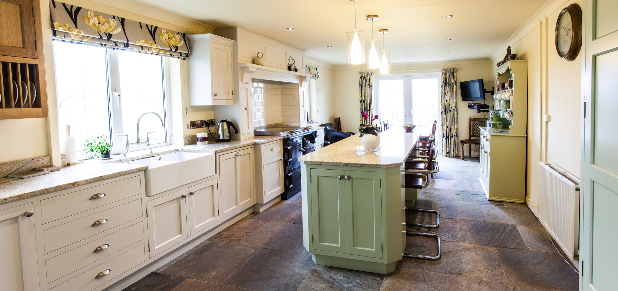 Painted Kitchen Hay On Wye Mark Stone 39 S Welsh Kitchens