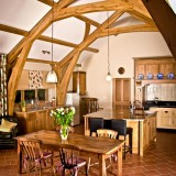 Oak Frmhouse Kitchen Pembrokeshire
