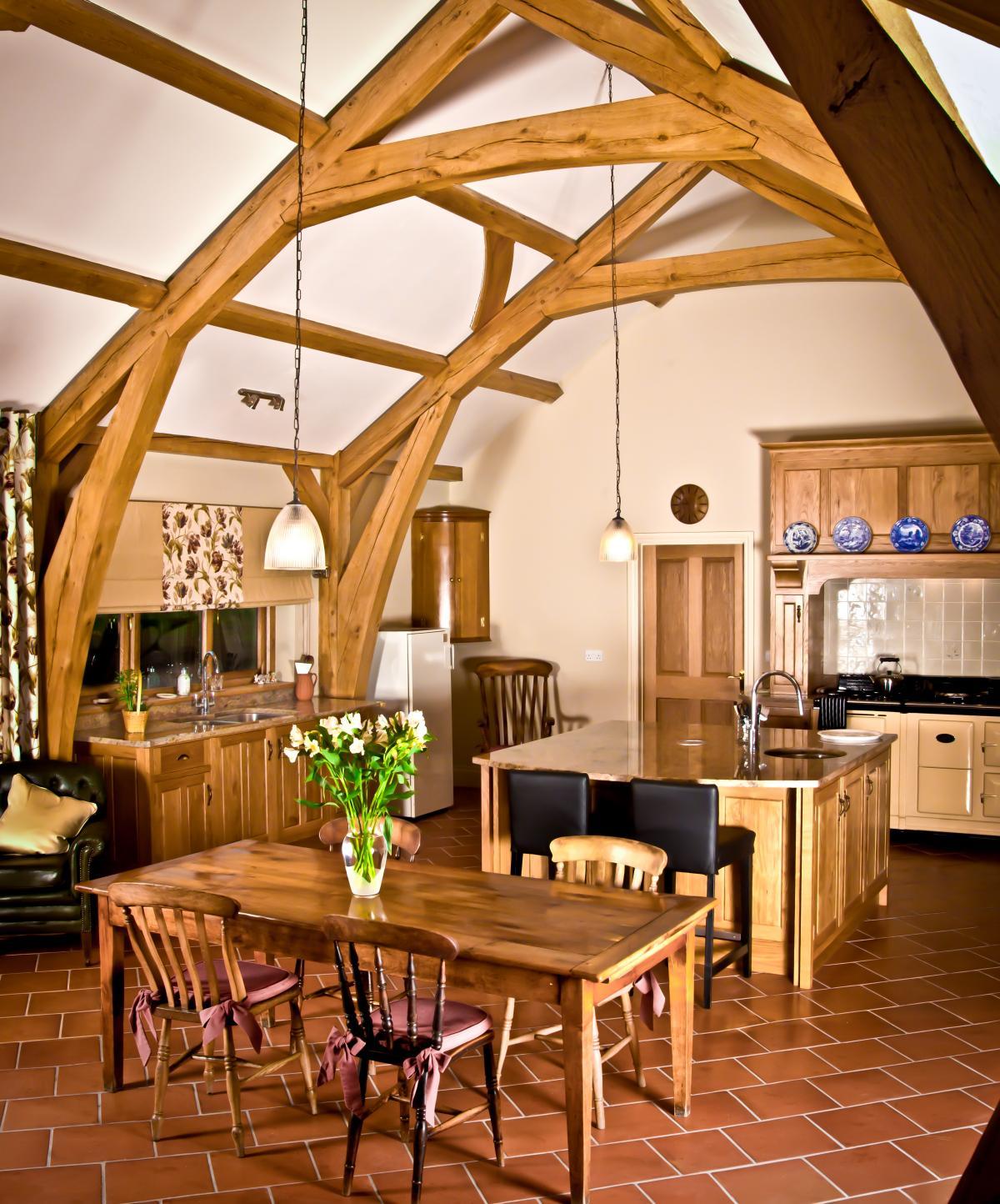 Oak Farmhouse Kitchen Pembrokeshire