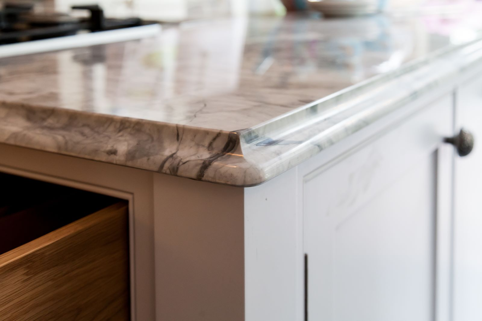 Painted Kitchen Cowbridge - Mark Stone\'s Welsh Kitchens - bespoke ...