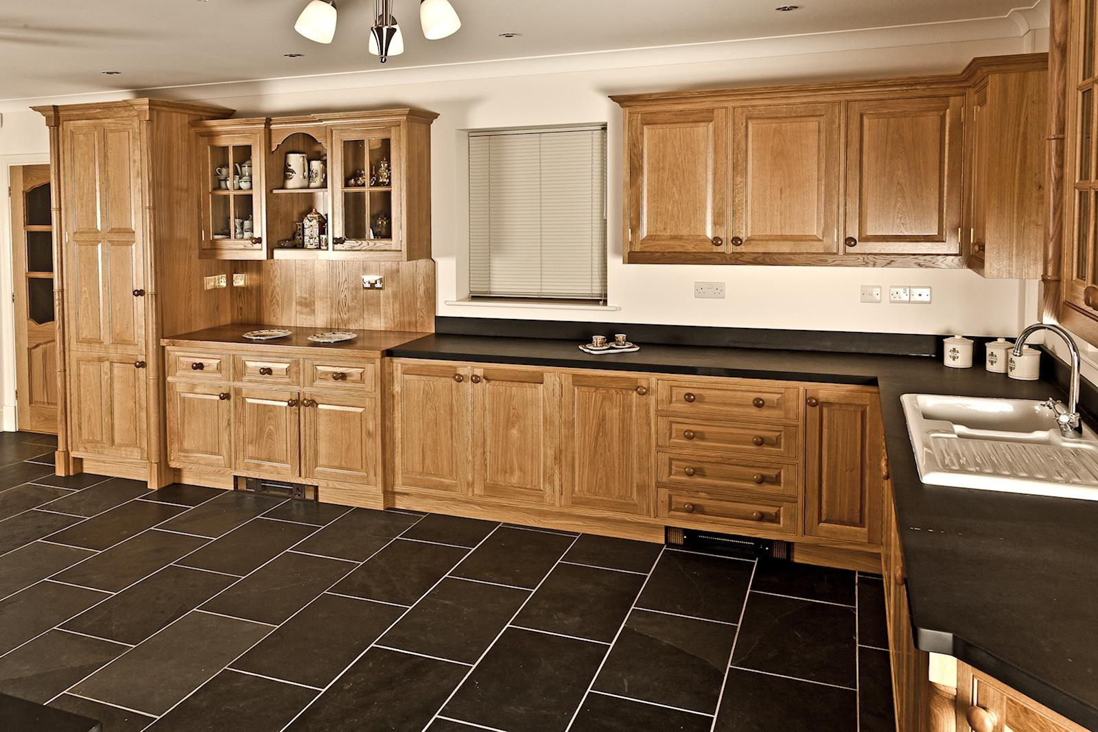 Oak Kitchen Pembrokeshire Mark Stones Welsh Kitchens