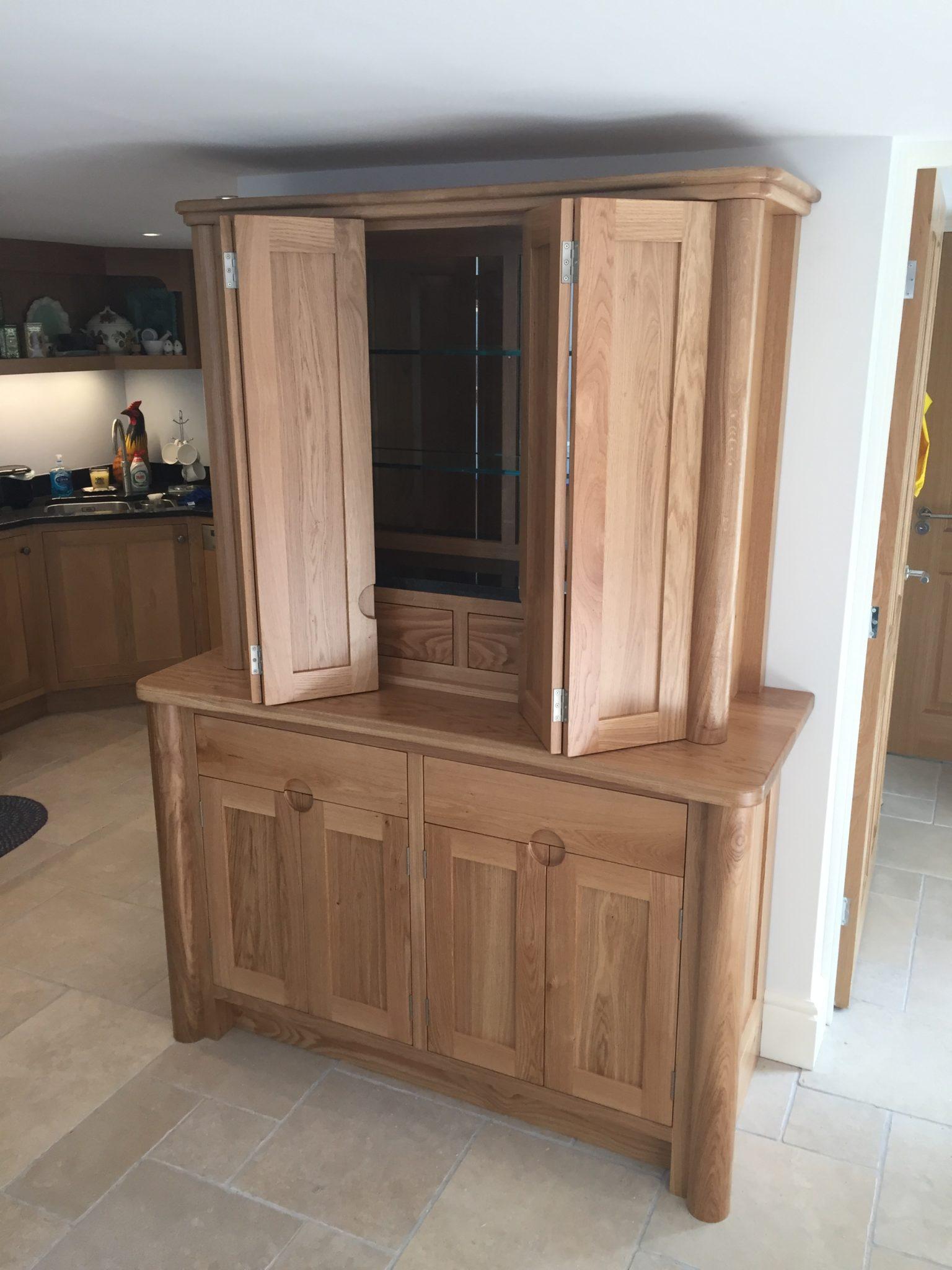 Modern Oak Dresser Share This Page