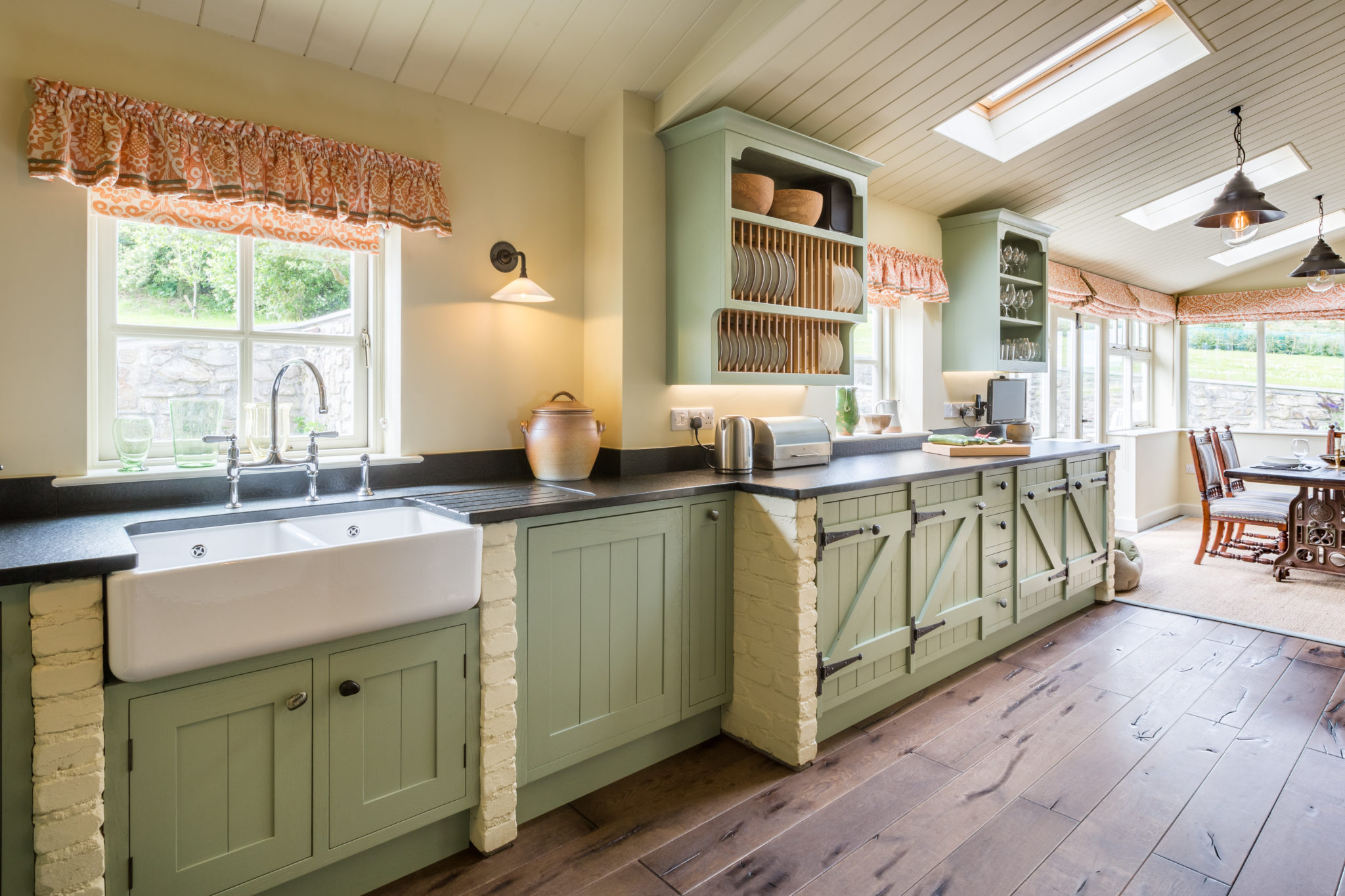 Painted Country Kitchen Winchester Mark Stone S Welsh