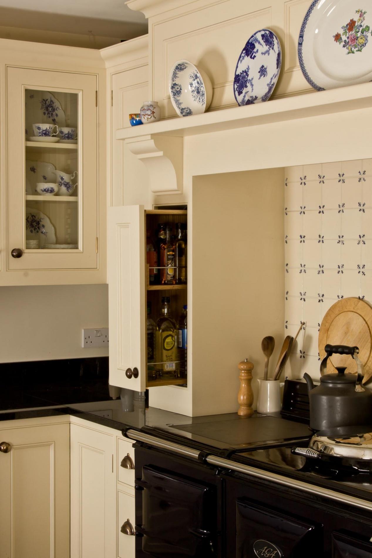 Painted Oak Kitchen Tondu Mark Stone S Welsh Kitchens