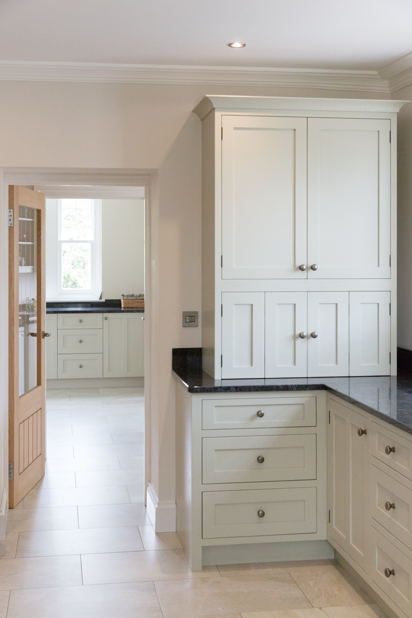 Painted Oak Kitchen Guilford