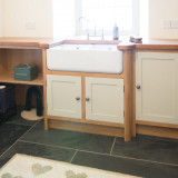 Painted Oak Kitchen Milford Haven