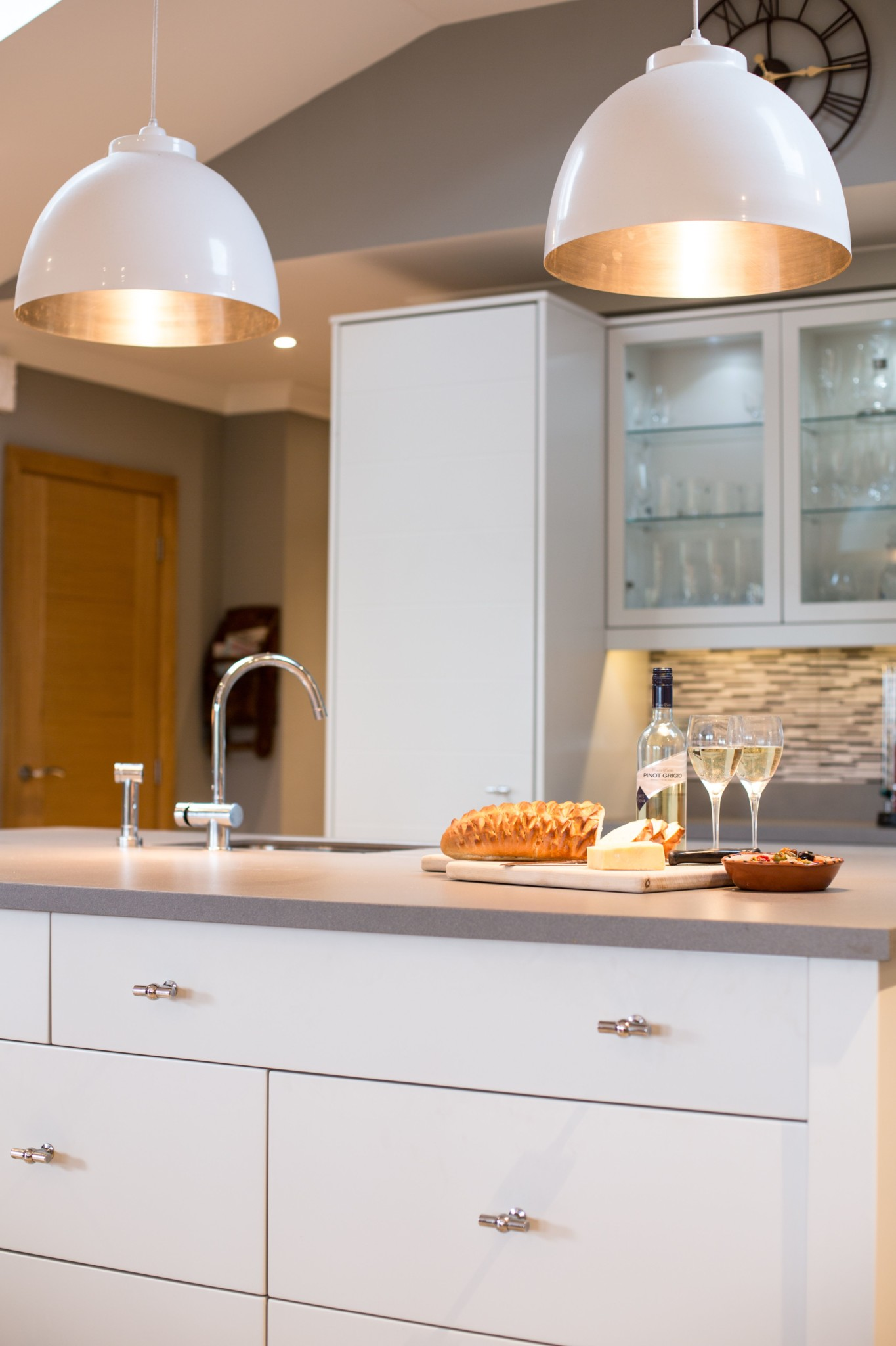 187 Smooth Painted Modern Kitchen Monmouth