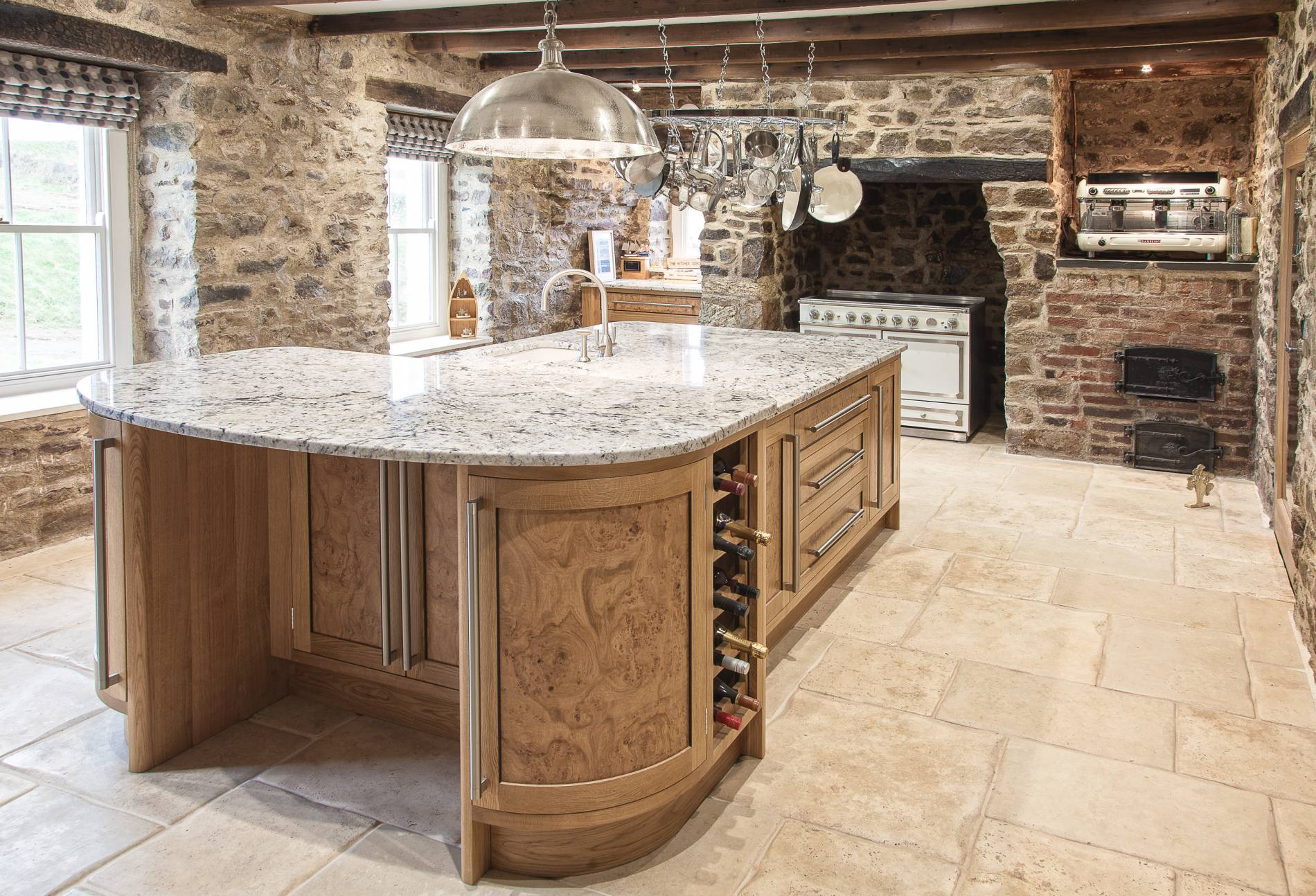 Burr Oak and Wenge Kitchen St David\'s - Mark Stone\'s Welsh ...
