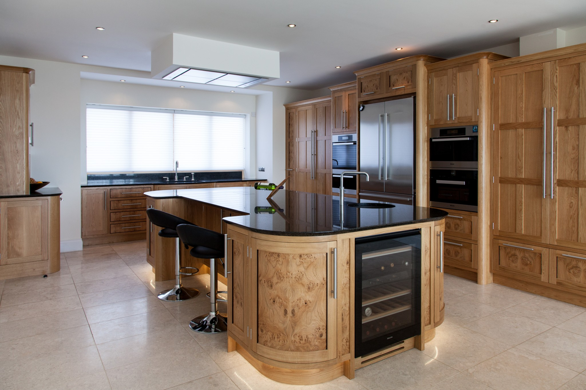 Oak And Burr Oak Kitchen Dorset Mark Stone S Welsh