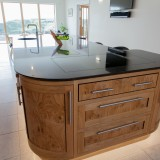 Oak and Burr Oak Kitchen Dorset