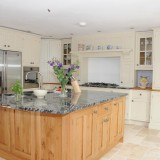 Painted and Oak Kitchen Llandeilo