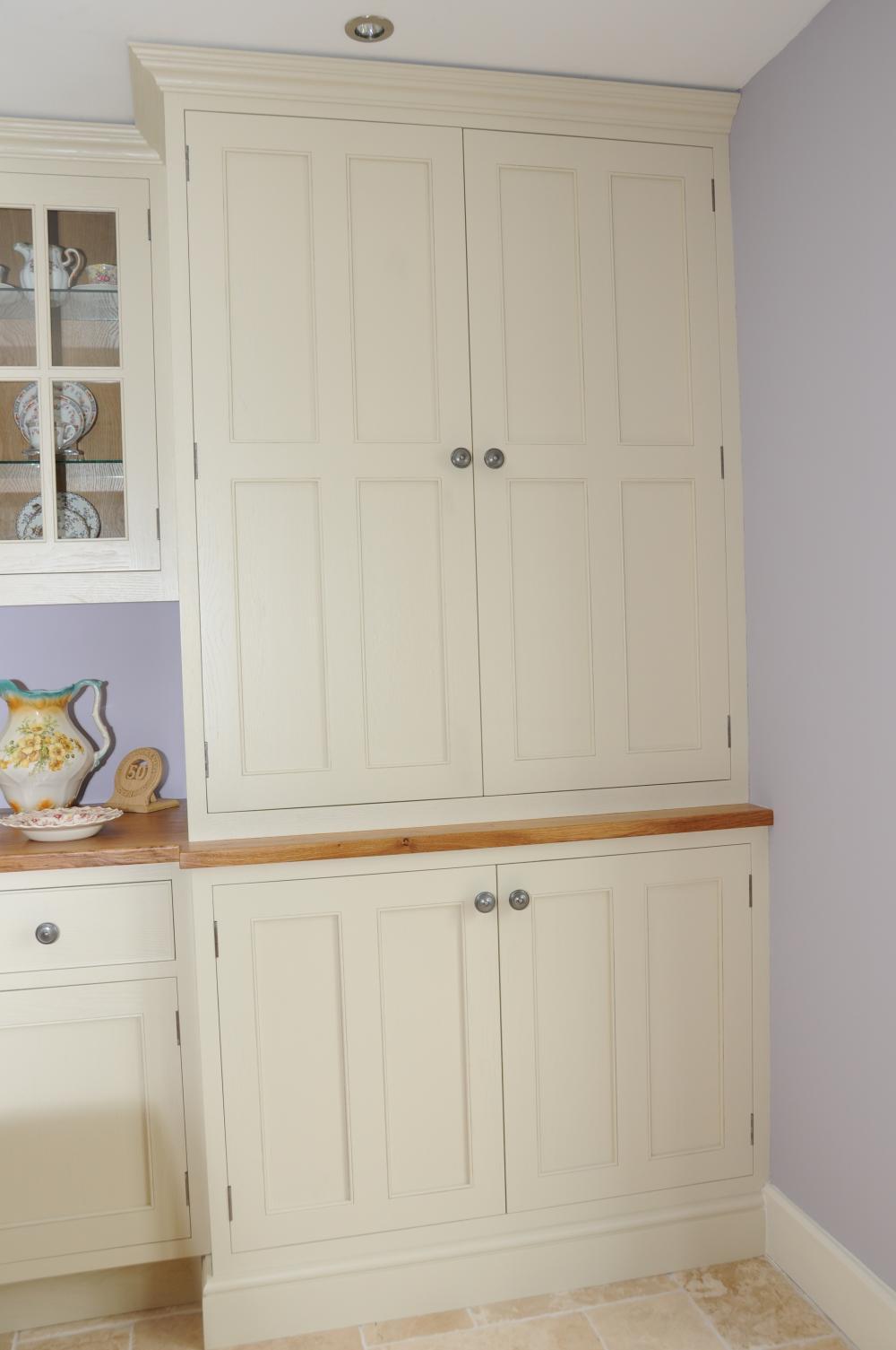 Painted and Oak Kitchen Llandeilo